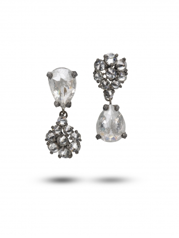 TaP by Todd Pownell, diamond earrings