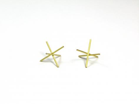 Marc Monzo Star earrings