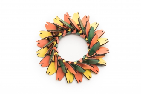 Rebecca Hannon, formica, canada, contemporary jewelry