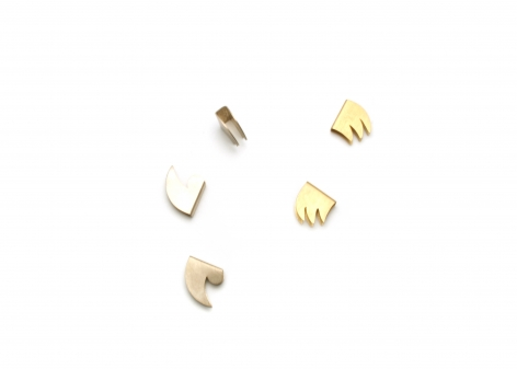 Ruudt Peters Wolftand Ear Clips