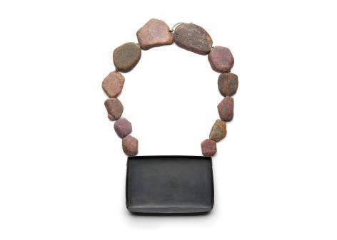 Ute Eitzenhöfer Ruby silver necklace