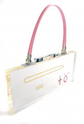 Ted Noten, acrylic, bag