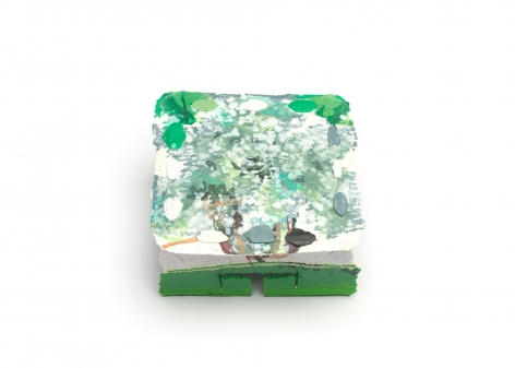 Shelley Norton Boxed, brooch, plastic, New Zealand, contemporary jewelry