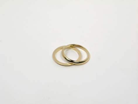 Half Wedding Band, Marc Monzo