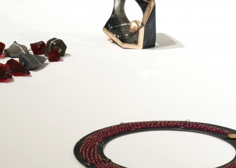 Petra Zimmermann, Philip Sajet, Exhibition, contemporary jewelry, Dutch, Austrian, art jewelry