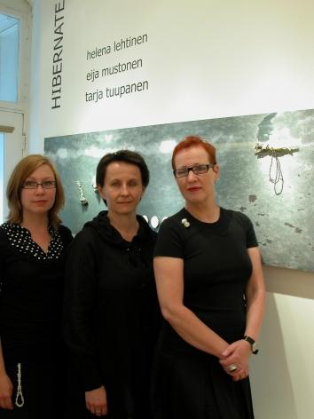 three finnish jewelers Helena Lehtinen, Eija Mustonen & Tarja Tuupanen