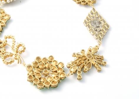 Philip Sajet, jewelry, Dutch Design, gold, enamel, pearls, glass