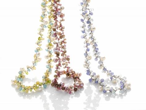 Claudia Geiger, flexible necklaces, German Design, Jewelry