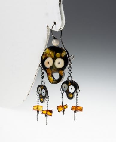 Petra Zimmermann, Austrian jewelry, acrylic