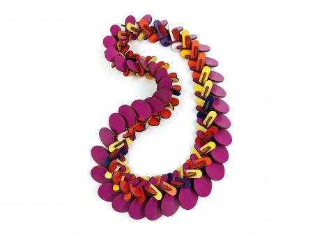 Rebecca Hannon, formica, necklace
