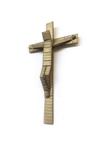 David Bielander Cardboard Crucifix, Silber Triennial, Robbe & Berking Prize, trompe l'oeil,