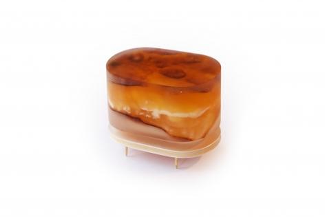 Ruudt Peters Suctus, Dutch Design, brooch, amber