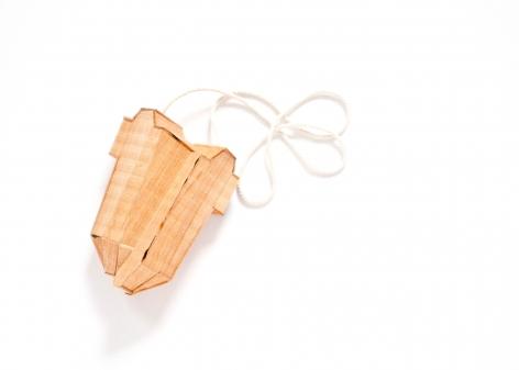 Sara Borgegard, pendant, wood, art jewelry
