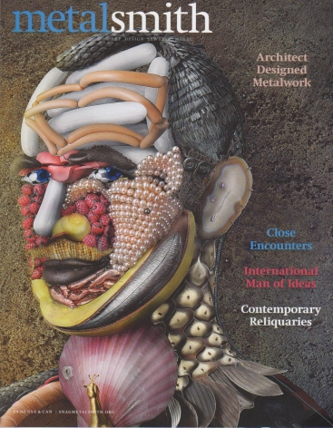 Metalsmith Magazine features David Bielander on cover and in feature article.