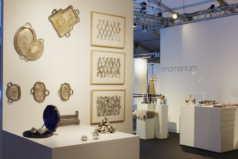 Jaydan Moore, platter, artwork, Design Miami, David Clarke