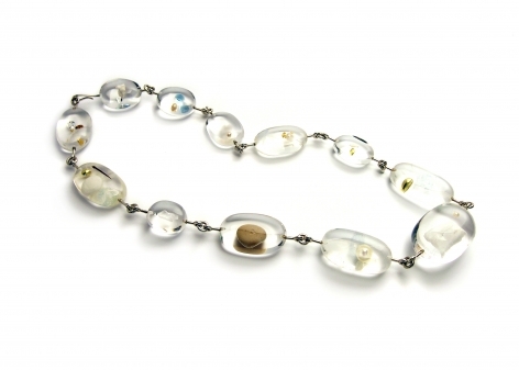 Ted Noten, acrylic necklace, Dutch Design,