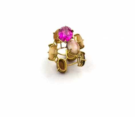 Philip Sajet, Dutch, Ring, Contemporary Jewelry