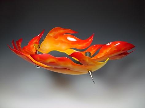 Daniel Jocz Fire Water, necklace