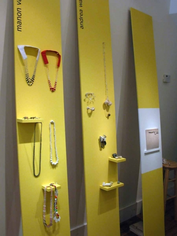 Young Dutch contemporary jewelry