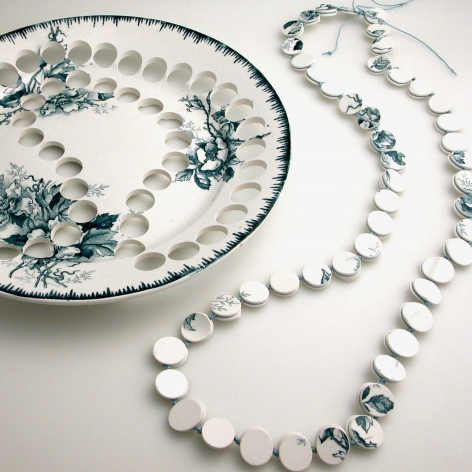 Necklace by Gesine Hackenberg