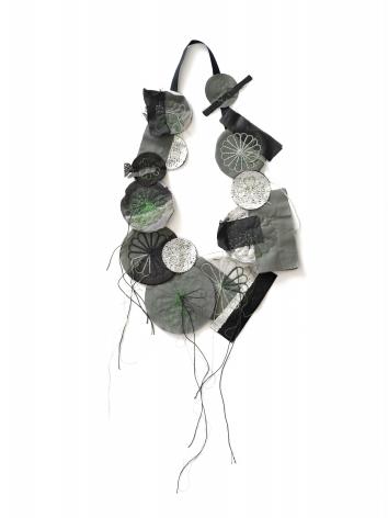 Camilla Prasch, contemporary jewelry, silicone, snaps, Danish, textiles, fur,