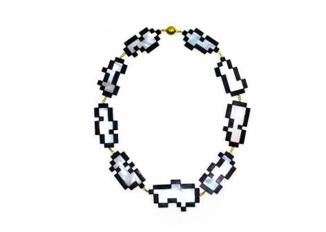 Philip Sajet, Dutch, contemporary jewelry, necklace