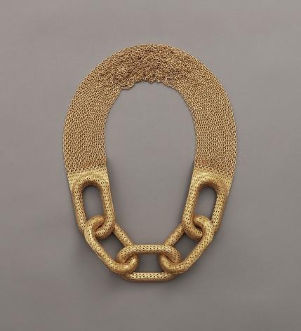 Veronika Fabian chain necklace,