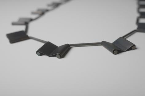 Katrin Feulner, steel necklace