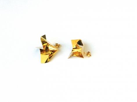 Marc Monzo Fire Earrings