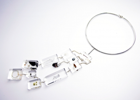 Ted Noten, Dutch Design, acrylic necklace