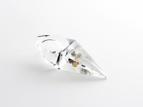 Ted Noten, acrylic, jewelry, diamonds, contemporary Dutch Jewelry