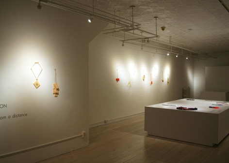 Karin Johansson, jewelry, Swedish, acrylic, exhibition