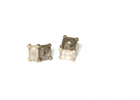 TaP by Todd Pownell, diamond earrings