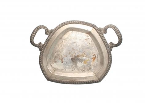 Jaydan Moore, trays, platter, silver plated,