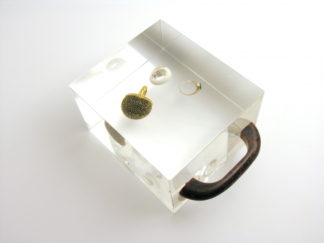 Ted Noten, Dutch, conceptual jewelry, contemporary, sculpture, acrylic,