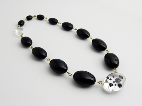 Ted Noten, necklace, black widow, Ted Meets Joost Lyppens