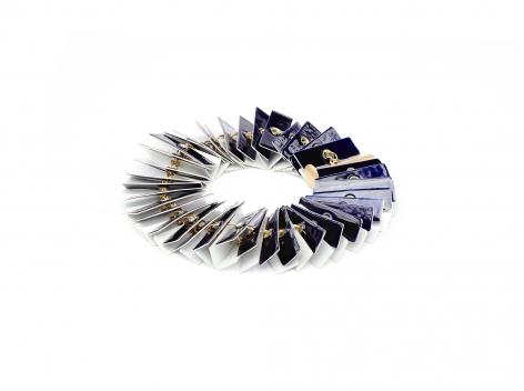 Ralph Bakker, gold, jewelry, enamel, niello, Dutch design