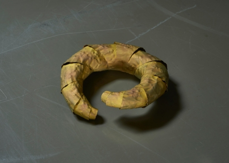 David Bielander Croissant bracelet, titanium