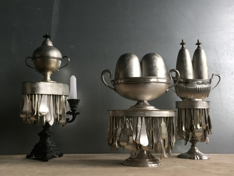David Clarke, Silversmith, pewter, Marzee, London, UK, contemporary