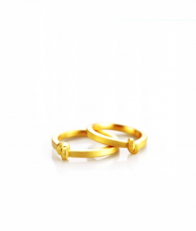 Oliver Schmidt Juni Knot Rings Knotenringe modern unique wedding bands