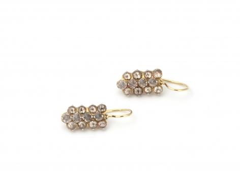 Todd Pownell, diamond earrings