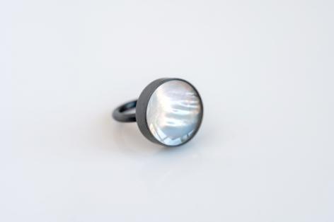 Jiro Kamata ring, mother of pearl