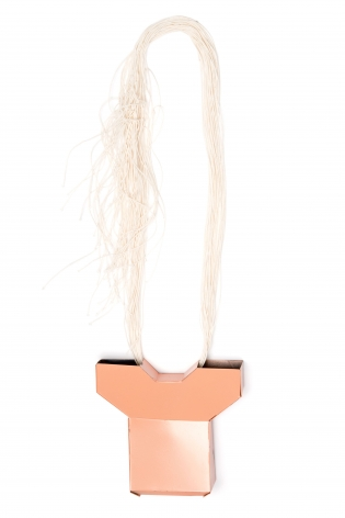 Sara Borgegard, pendant, steel, art jewelry