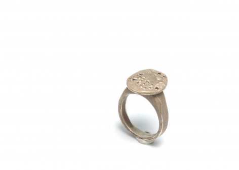 Karl Fritsch, German, contemporary jewelry, rings, new zealand