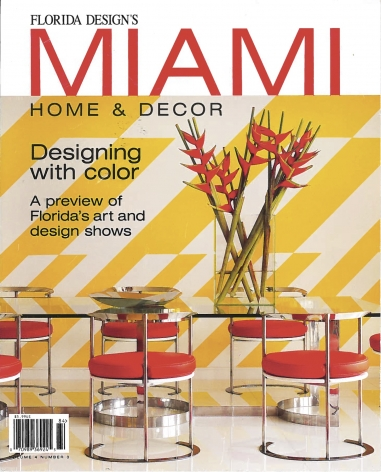TED NOTEN FEATURED IN MIAMI HOME AND DECOR
