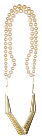 Annelies Planteydt, Beautiful City, necklace, pearls,