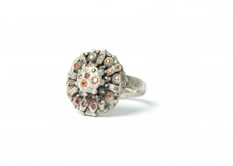 Karl Fritsch rings, Salon 94, German jewelry design, Schmuck