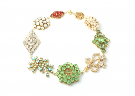 Philip Sajet, jewelry, Dutch Design, gold, enamel, pearls, glass