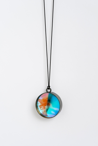 Jiro Kamata, Dichroic, glass, pendant