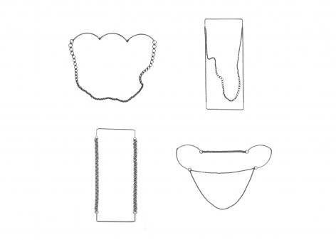 Rebekah Frank necklaces